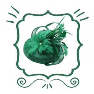 Green Fascinators