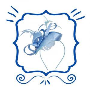 Blue Fascinators